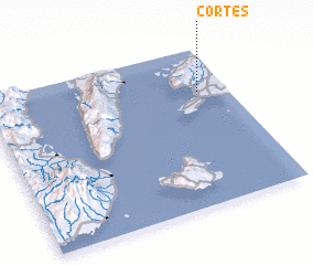 3d view of Cortes