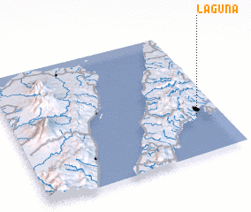 3d view of Laguna