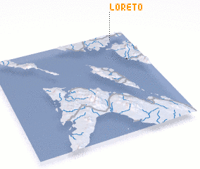 3d view of Loreto