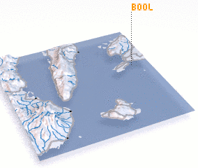 3d view of Bool