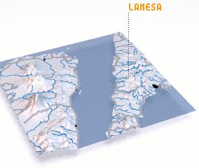 3d view of Lamesa