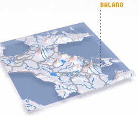3d view of Balano