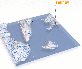 3d view of Tanday