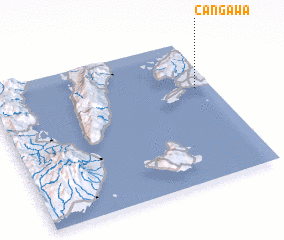 3d view of Cangawa