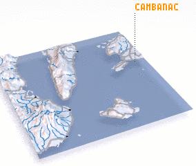 3d view of Cambanac