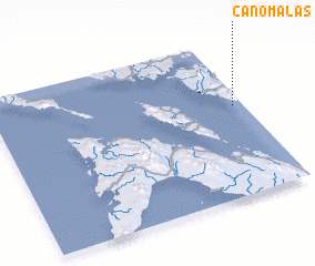 3d view of Canomalas