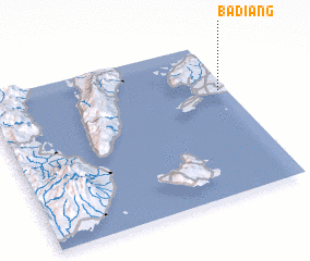 3d view of Badiang