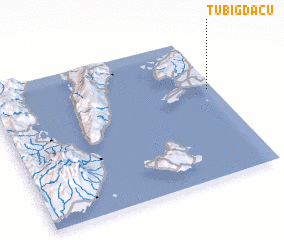 3d view of Tubig-Dacu