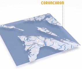 3d view of Coron-Coron