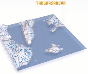 3d view of Tangkasan Sur