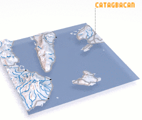 3d view of Catagbacan