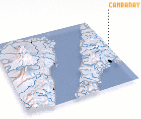 3d view of Cambanay