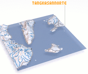 3d view of Tangkasan Norte