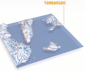 3d view of Tambangan
