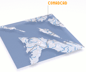 3d view of Comadcad