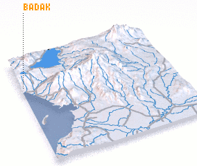 3d view of Badak