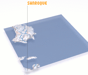 3d view of San Roque