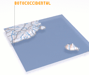 3d view of Botoc Occidental