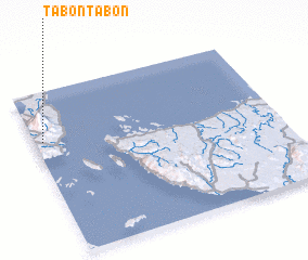 3d view of Tabontabon