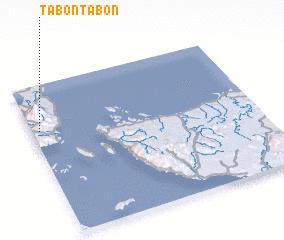 3d view of Tabontabon
