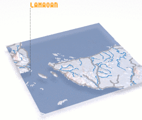 3d view of Lamaoan