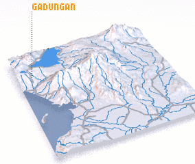 3d view of Gadungan
