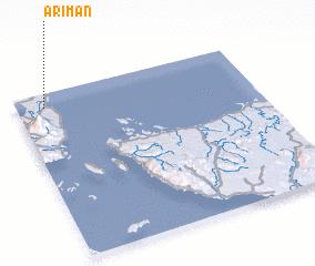3d view of Ariman