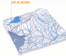 3d view of Kalalanuan