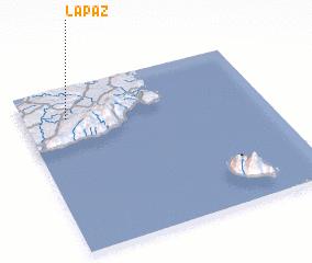 3d view of La Paz