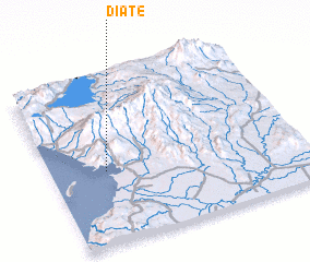 3d view of Diate