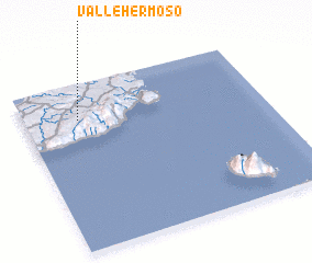 3d view of Vallehermoso