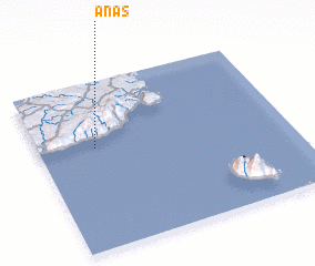 3d view of Anas
