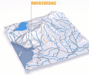 3d view of Makasandag