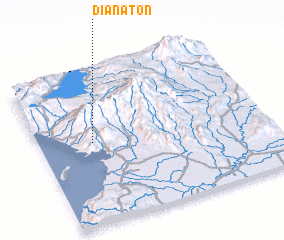 3d view of Dianaton