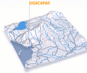 3d view of Digacapan