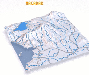 3d view of Macadar