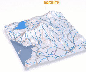 3d view of Baguier