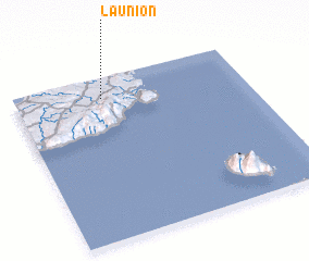 3d view of La Union