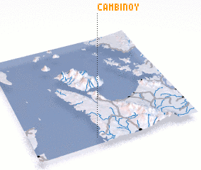 3d view of Cambinoy