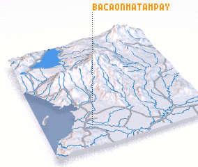 3d view of Bacaon-Matampay