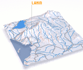 3d view of Lamin