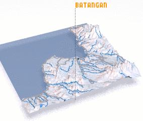 3d view of Batangan