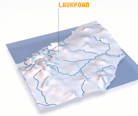 3d view of Laukfoan