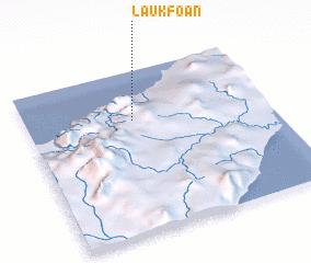 3d view of Laukfoan
