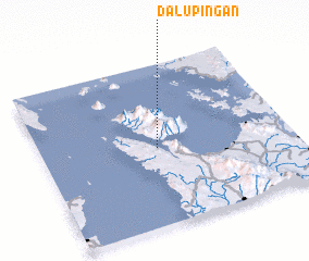 3d view of Dalupingan