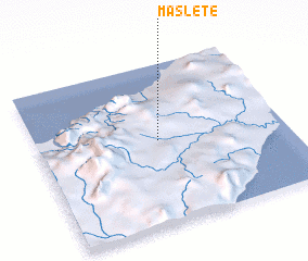 3d view of Maslete