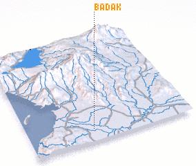 3d view of Badak