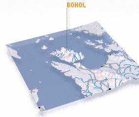 3d view of Bohol