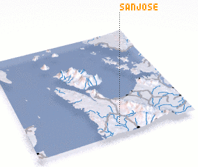 3d view of San Jose
