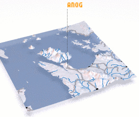 3d view of Anog